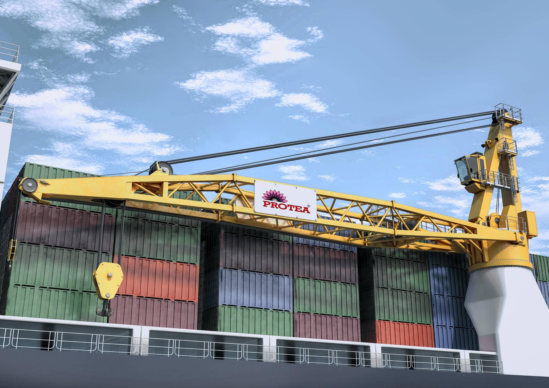 Żurawie typu Marine Cargo
