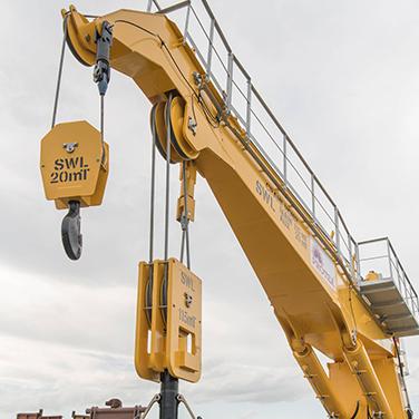 Pedestal Cranes for open pit mines