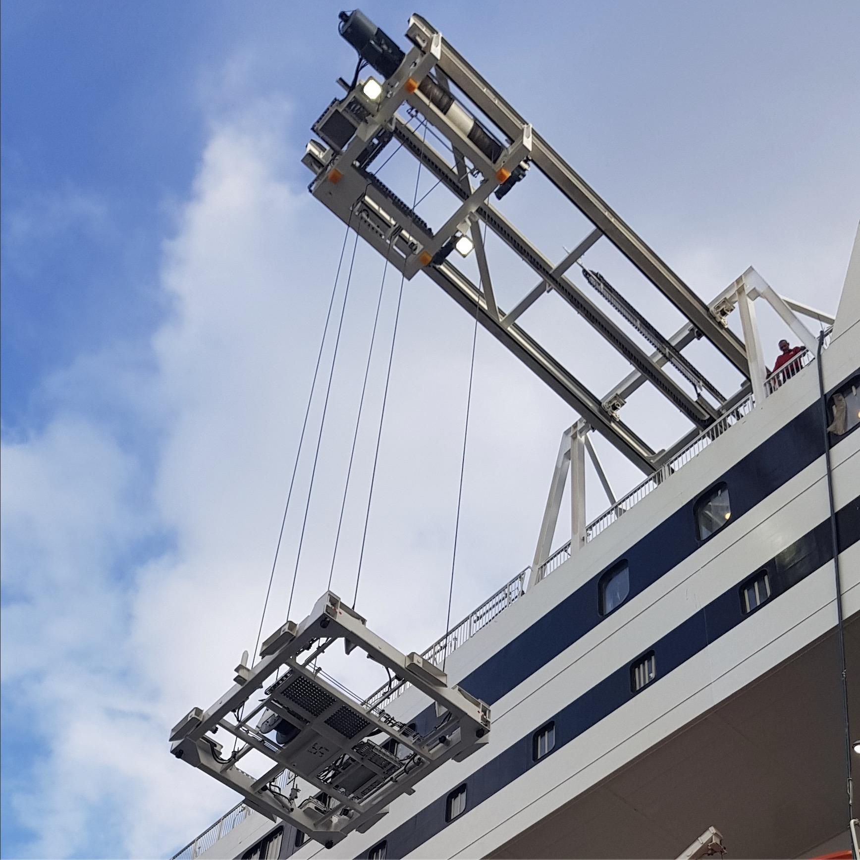 Wyposażenie statków handlowych i pasażerskich